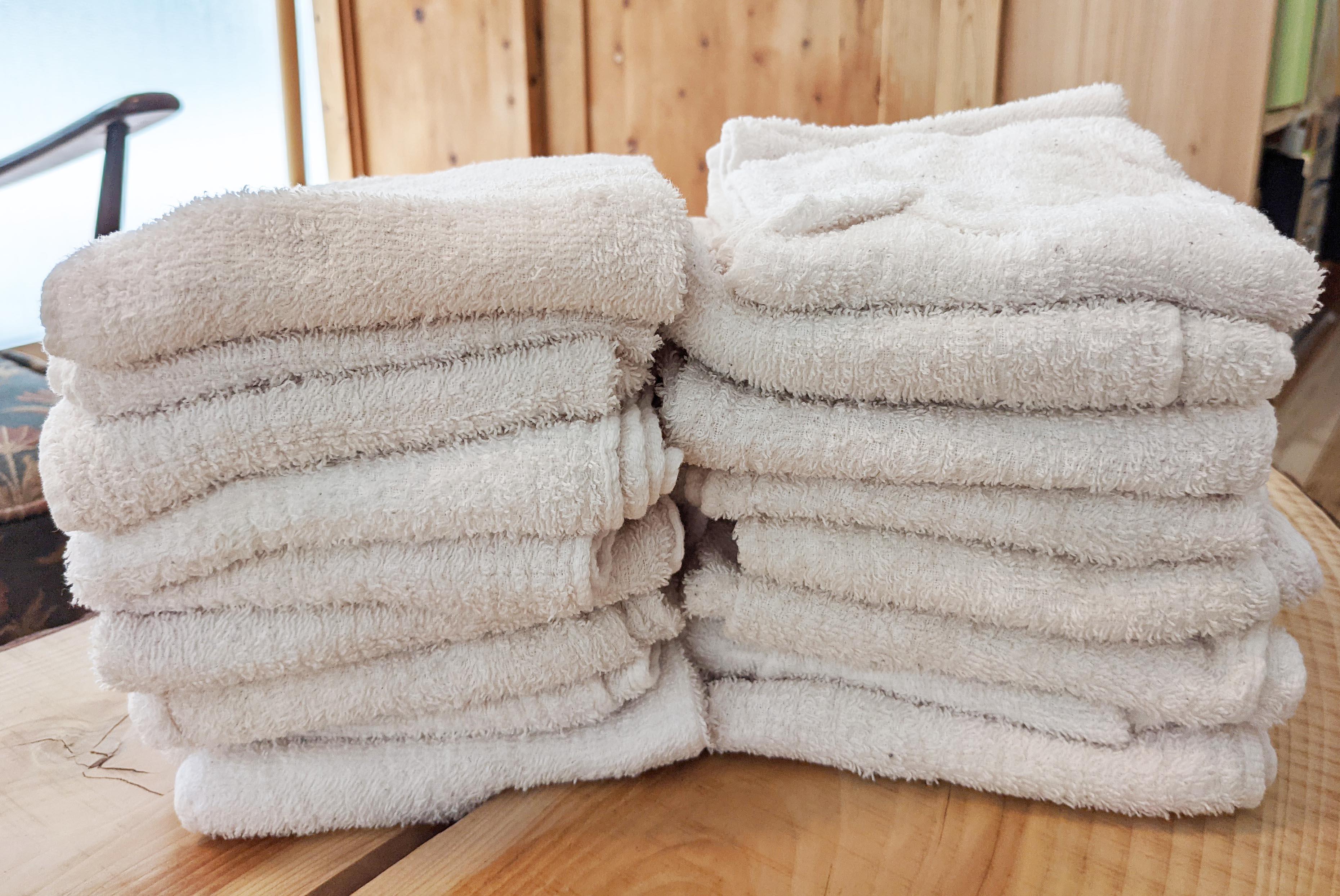美容室arch様にタオルをご提供いただきました