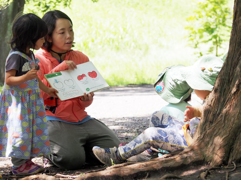 自然を身近に、子どもがのびのびできる保育がしたい/こだちゃん
